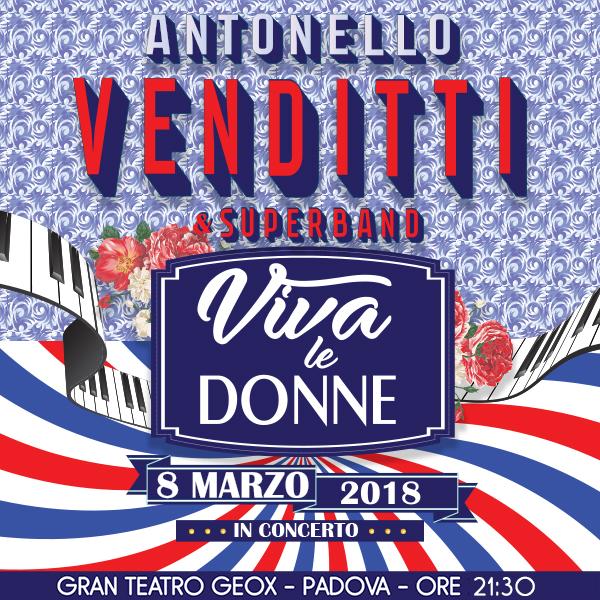 Antonello Venditti - Hotel Eden - Padova
